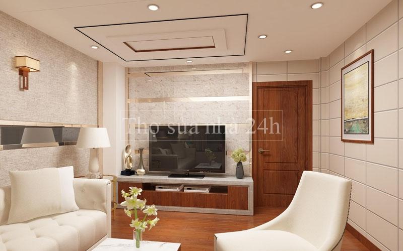 Dịch Vụ thi công hoàn thiện nội thất chung cư