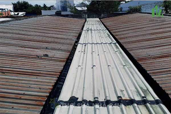 Dịch vụ thi công chống dột, chống nóng mái nhà