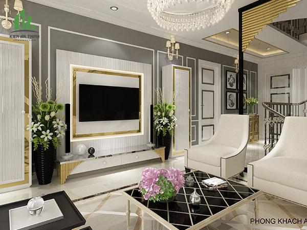 Thiết kế thi công hoàn thiện nội thất nhà Chú Phú - Phú Mỹ Hưng - Quận 7 - TP HCM